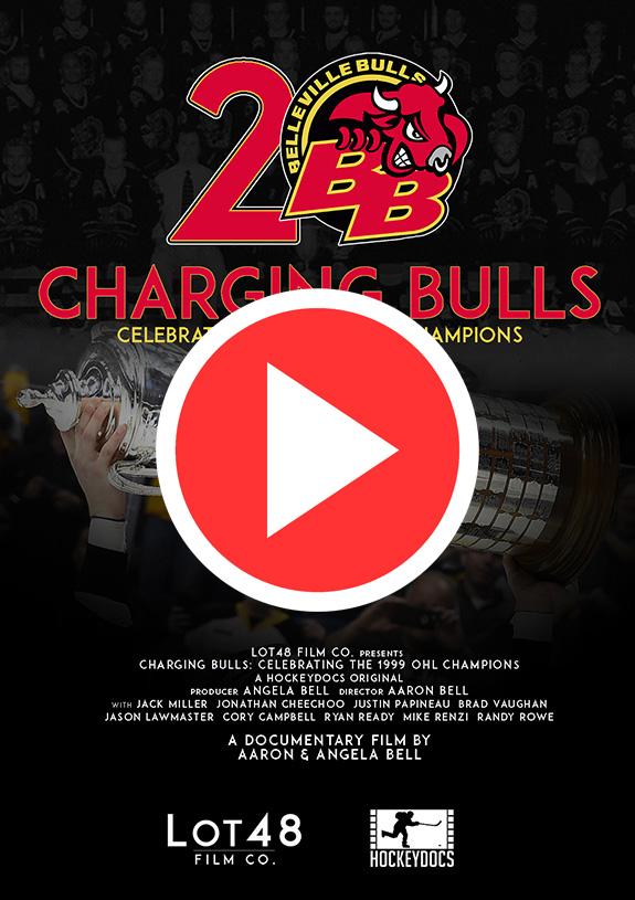 Charging Bulls-Poster-B